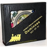 Dominoes Numbered Double 12 Professional Mexican Train Set