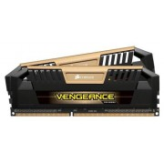 Corsair CMY8GX3M2A1600C9A Vengeance Pro 8GB (2x4GB) DDR3 1600Mhz CL9 Mémoire pour ordinateur de bureau performante avec profil XMP. Or