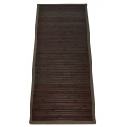Bamboo tappeto passatoia bordo in cotone cm 60x280