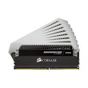Corsair CMD128GX4M8A2400C14 Dominator Platinum Kit di Memoria da 128 GB, 8x16 GB DDR4, 2400 MHz, CL14 XMP 2.0 Enthusiast, Nero