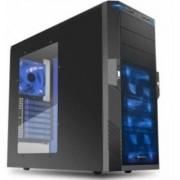 Sharkoon T9 Value Blue - Midi-Tower Black