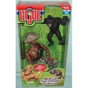 G.I. Joe Rescue the Pygmy Gorilla 12 Action Figure Set (African American Variant)