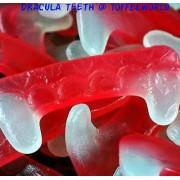 Dracula Fang Teeth Halloween Gummy Retro Sweets