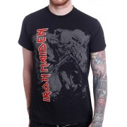 Iron Maiden: Hi Contrast Trooper (tricou)