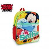 MK16105 Zaino scuola asilo elementari e tempo libero Mickey Mouse 31x25x10 cm
