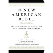 New American Bible (Non-Flex Black Imitation Leather) by Harper Bibles