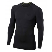 Falke Longsleeved Tight Shirt Men black S Langarm Shirts