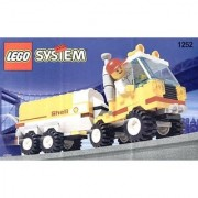 Lego City Mini Figure Set #1252 Shell Tanker