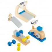 Hape Salle de fitness pour maison poupée E3458