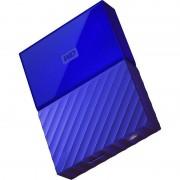 Hard disk extern Western Digital My Passport New 3TB 2.5 inch USB 3.0 Blue