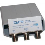Hyro 2-Väg DiSEqC Switch