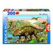 Educa Dinoszaurusz puzzle, 200 darabos