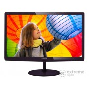 "Monitor Philips 247E6LDAD/00 24"" LED, negru-cires"