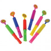 Smile Face Slide Whistles 24 Pieces
