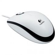 Myš Logitech M100 optická, biela, USB