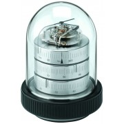 Barigo 3031.1 - Decorative Dome Weather Station Low Altitude (Nickel Plated Brass)