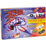 Speed Racer Grand Prix Challenge Race Track Set By Darda. Featuring 2 ultra speed Darda cars - Mach 5 & X-Mobile...