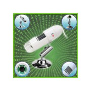 2 in 1 USB 2.0 Digital Microscope 200X with Digital Camera