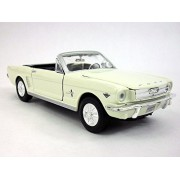 Ford Mustang 1964 1/2 (1964.5) Coupe Scale Diecast Metal Model White