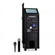 IBIZA PORT10 портативна PA система DVD плеър и микрофон USB (BD-Port9DVD-VHF)