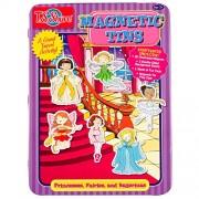 T.S. Shure Princesses, Fairies & Ballerinas Magnetic Tin Play Set