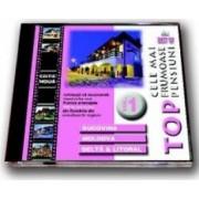 CD top cele mai frumoase pensiuni vol 1