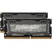 Ballistix Sport LT 16Go Kit (8Gox2) DDR4 2400 MT/s (PC4-19200) SODIMM 260-Pin Memory - BLS2C8G4S240FSD
