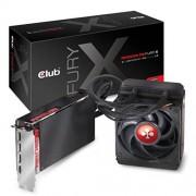 Club 3D CLUB3D Radeon R9 Fury X AMD Radeon R9 Fury X 4Go - cartes graphiques (Eau, ATX, Windows 7 Enterprise x64, Windows Vista Home Premium x64, Windows 10 Education x64, Windows 7 Home B, AMD, Radeon R9 Fury X, High Bandwidth Memory (HBM))