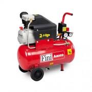 Compresor de aer Fini Amico 25/2400, 230 V, 1.5 kW, 170 l/min, 8 bar, 24 l