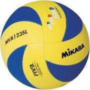 mikasa Volleyball MVA 123 SL - blau/gelb   5
