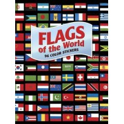 Flags of the World: 96 Color Stickers [With Sticker(s)]