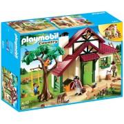 PLAYMOBIL - CASA PADURARULUI - FORESTER'S HOUSE (PM6811)