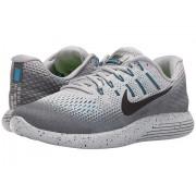 Nike LunarGlide 8 Shield Wolf GreyCool GreyBlue GlowBlack