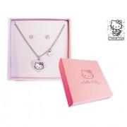 Collar y Pendientes de Hello Kitty para mujeres y niñas Barato