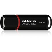 Stick USB A-DATA UV150 16GB, USB 3.0 (Negru)