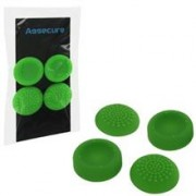Silicone Thumb Grips Concave And Convex Green Ps4