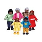Hape HAP-E3501 Happy Family-African American