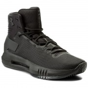 Cipő UNDER ARMOUR - Ua Drive 4 1298309-001 Blk/Blk/Mcg