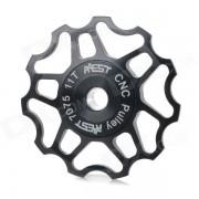 AEST YPU09A14 para bicicleta Ultra Light 11T Aleacion de aluminio Ruedas Cambio trasero Polea - Negro