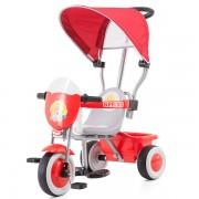 Tricicleta cu copertina Chipolino Spring red