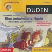 Eine unheimliche Nacht und andere Geschichten, 1 Audio-CD