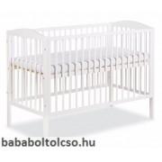 Klups Radek II kiságy 120x60 fehér/bialy