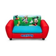 Disney - Divano per bambini con vano portaoggetti Mickey Mouse