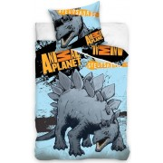 Dekbed Animal Planet Stegosaurus: 140x200/70x80 cm