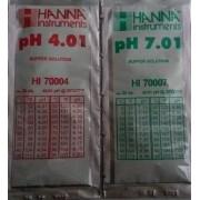 Solutii calibrare PH HANNA
