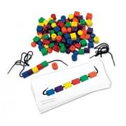 Learning Resources - Set di perline e fili per costruire bracciali