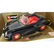 Burago 1/18 Scale diecast - 3031D Porsche 356 B Cabriolet 1961 Autodrom edition