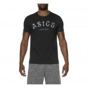 Asics Camou Logo SS Top fekete férfi