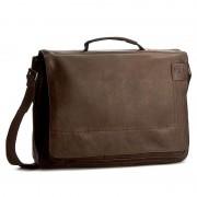 Laptoptáska STRELLSON - Upminster BriefBag L 4010001923 Dark Brown 702