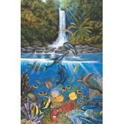 Tomax The Infinite Way 1000 Piece Glow-in-the-dark Dolphin Jigsaw Puzzle